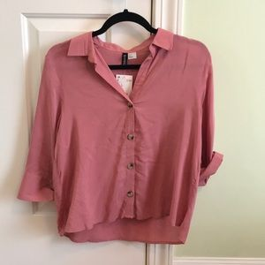 H&M Button Up Blouse